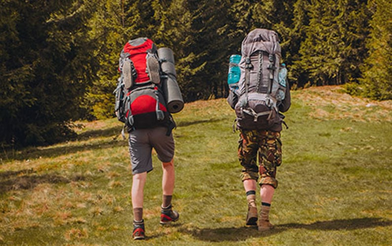 Men's Ministry Backpacking Trip
